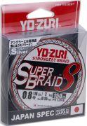 Yo-Zuri PE Super Braid 8 150м Silver #0.8 0.15мм 7кг