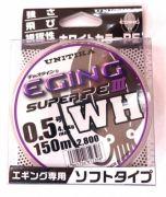 Unitika Eging Super PE III WH #0.8 150м 0.148 6кг Multicolor
