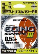 Unitika Eging Super PE III #0.6 150м 0.128 4.8кг Yellow